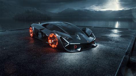 lamborghini terzo millennio digital art hd cars