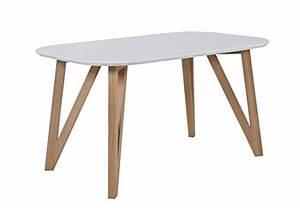 Esstisch Skandinavisches Design : salesfever esszimmertisch wei aino skandinavisches ~ Michelbontemps.com Haus und Dekorationen