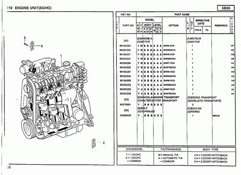 suzuki grand vitara engine diagram automotive parts