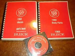 1969 Buick Parts Book  U0026 Cd Gs 350 Gs 400 Skylark Riviera