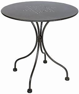 Gartenmöbel Tisch Rund : tisch boulevard mbm gartenm bel eisen rund art jardin ~ Indierocktalk.com Haus und Dekorationen