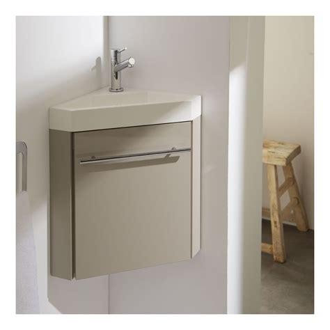 angle plan de travail cuisine meuble lave mains d 39 angle couleur daim pour wc