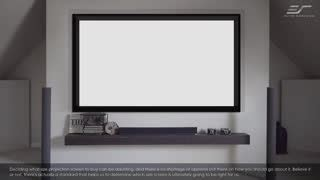 diy screen series wraithveil rear projector screen