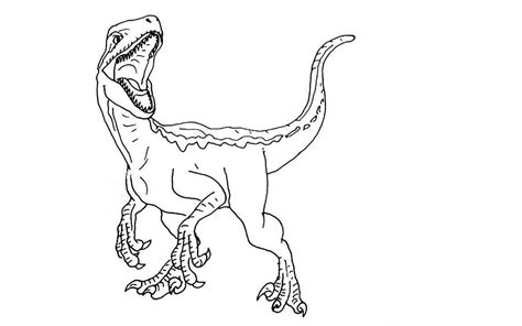Kleurplaat Indominus Rex by Indominus Rex Picture Jurassic World Coloring Pages