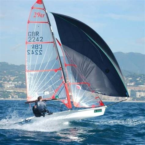 Skiff Zeilboot by 29er Sailboat West Coast Sailing Ovington Boats 29er Skiff
