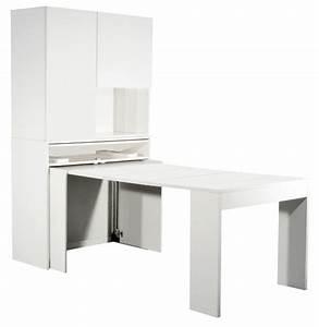 Meuble De Cuisine Avec Table Escamotable Maison Et