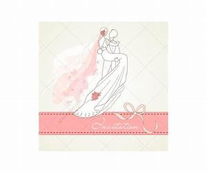 wedding card vectors with wedding couple wedding card With wedding invitation cards html templates