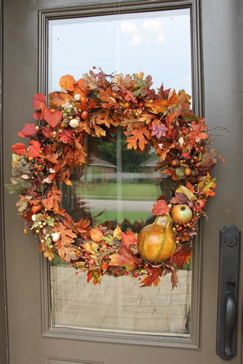 simple fall wreath miss kopy kat easy autumn wreath
