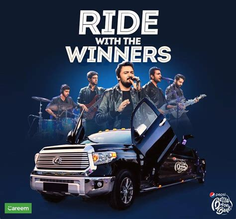 Book A Careem And Ride With The Winners Of Pepsi Battle Of