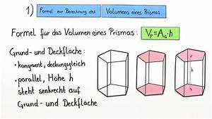 Prismen Berechnen Arbeitsblätter : k rper in prismen zerlegen volumen berechnen mathematik online lernen ~ Themetempest.com Abrechnung