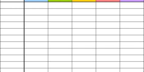 blank spreadsheet templates blank spreadsheet