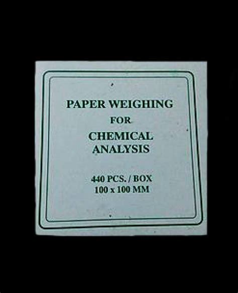 Weighing Boat Paper by Weighing Paper