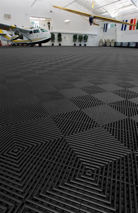 garage rubber flooring rubbertrax swisstrax recycled garage floor tile