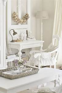 * Lilly Queen Vintage : Airy Office Space - Shabby Chic Decor