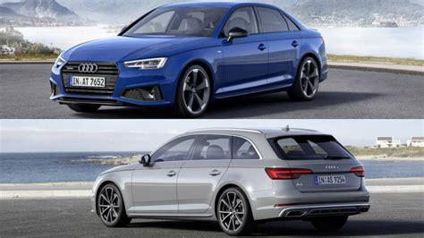 2019 Audi A4 Saloon, Avant Unveiled In Europe With