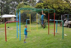 Rainbow Monkey Bars Playground Equipment from Cubbykraft