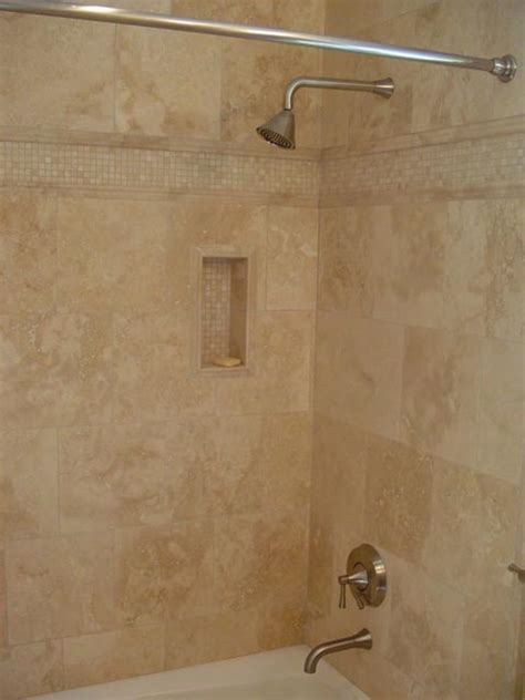 shower tub combo  niche  border  ogee chair