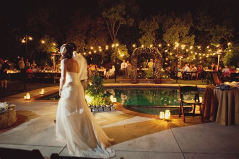 santa monica poolside wedding rustic wedding chic