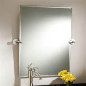 tilt bathroom mirror rectangular 32 quot houston rectangular tilting mirror