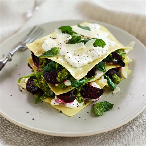 Open Beetroot, Ricotta and Mint Ravioli Woman And Home