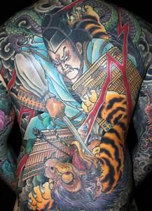 70 Japanese Tiger Tattoo Designs For Men - Masculine Ideas