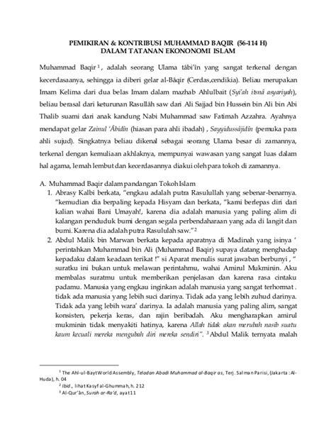 Bab 7 kontribusi pemikiran muhammad baqir bin ali za (56