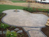 design ideas for sted concrete patios the concrete