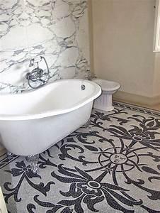 Intarsio Bagno di lusso con pavimento in mosaico SPIRITO ARTISTICO