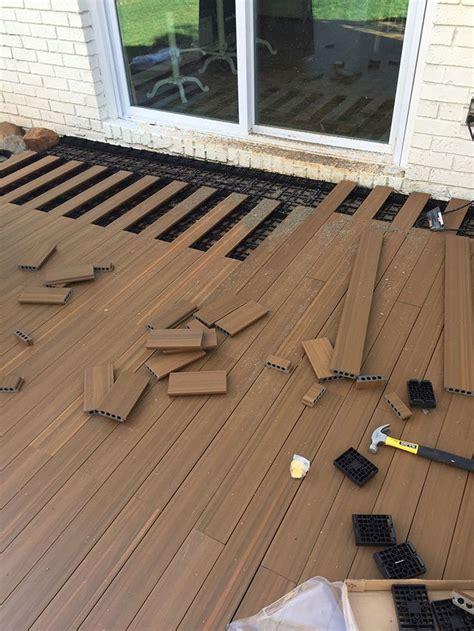Patio Flooring Ideas Concrete by 17 Best Ideas About Deck Flooring On Pallet