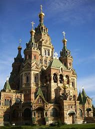 Peter and Paul Church St. Petersburg Russia
