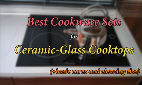 cookware ceramic glass cooktop cooktops sets stoves