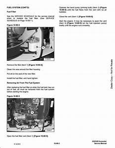 2007 Bobcat 325  328 Compact Excavator Service Repair