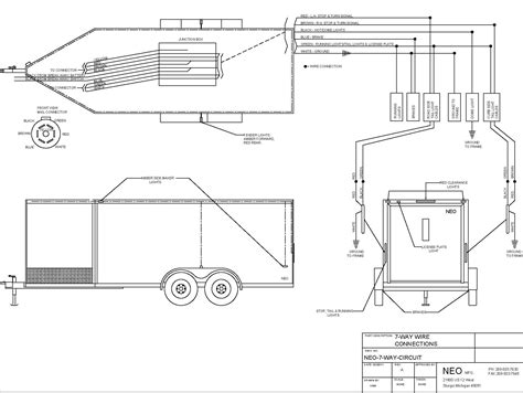 Trailer Wiring Diagram 7 Wire Circuit by Neo Trailers Manual