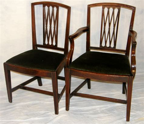 set 6 mahogany dining chairs for sale antiques