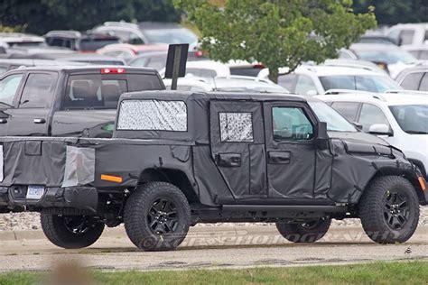 spy shots  jeep wrangler pickup truck details truckscom