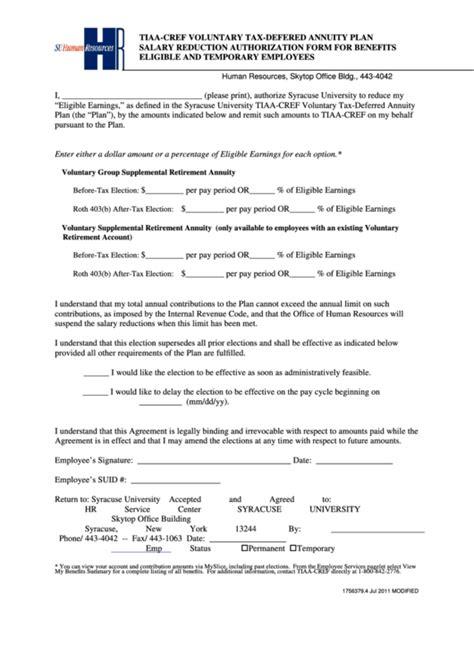 top tiaa cref forms  templates