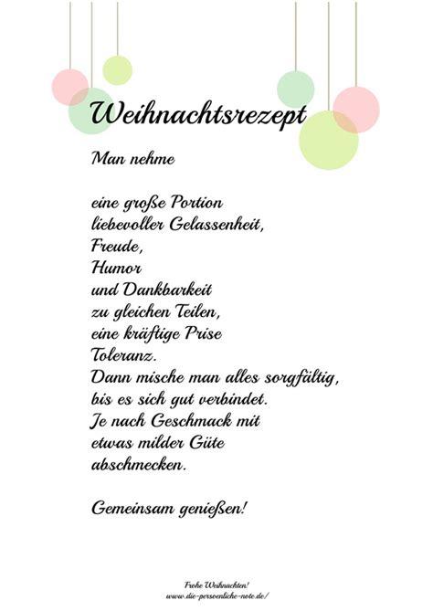 Adventskalender 2014 24 Kleine Wortgeschenke 3