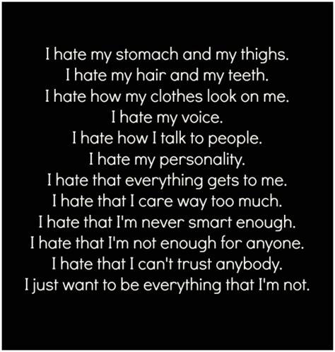 I Hate My Body Quotes Tumblr Mungfali