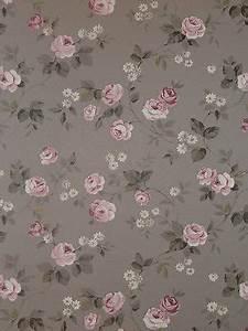 Tapete Blümchen Landhausstil : aromas vlies tapete 623 3 floral blumen rosa grau landhaus stil euro m esszimmer ~ Buech-reservation.com Haus und Dekorationen