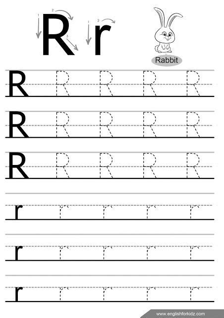 letter r tracing worksheet handwriting sheets alphabet worksheets letter tracing worksheets