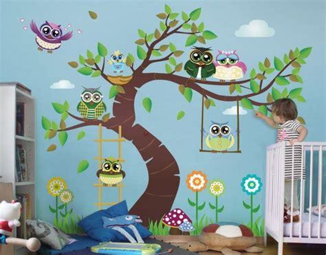 Wandtattoo Für Kinderzimmer Junge by Eulen Deko Kinderzimmer