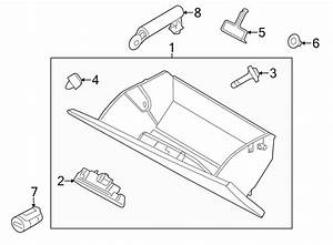 Ford Taurus Glove Box Support  Check Arm  Check Assembly