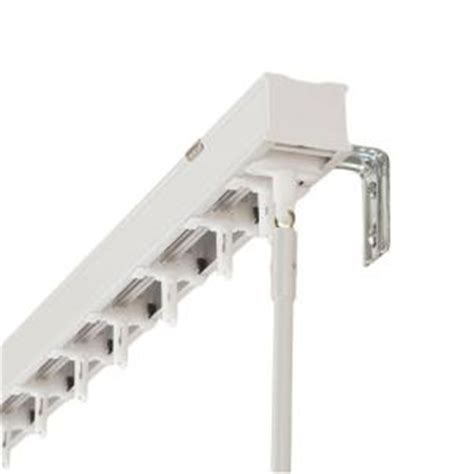 home depot blind repair hton bay 104 in vertical blind rail for 3 5 in