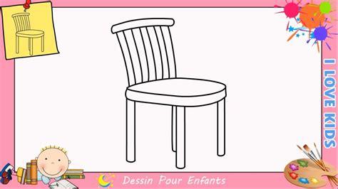 comment rehausser une chaise comment dessiner une chaise facilement etape par etape pour enfants 2