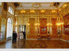 'Priceless' Amber Room of the Tsars, looted and hidden by
