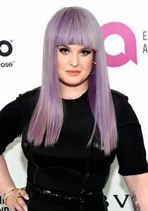 Kelly Osbourne Long Straight Cut with Bangs - Long ...