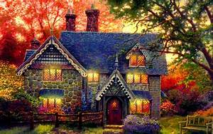 Beautiful, Cottage, Widescreen, High, Definition ...