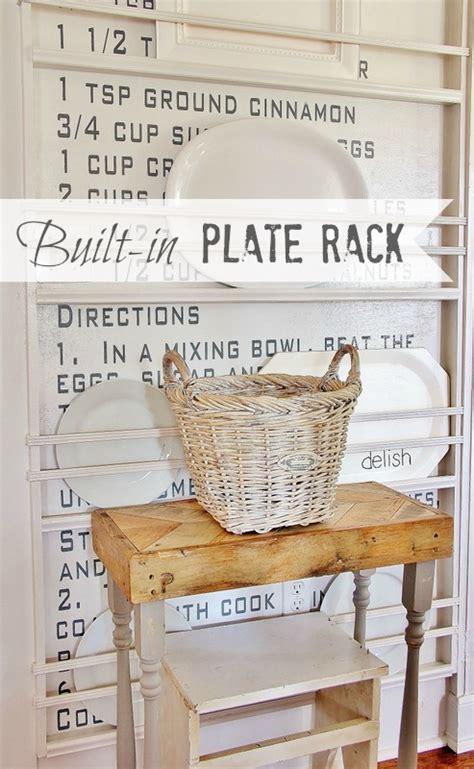 create  built  plate rack thistlewood farms