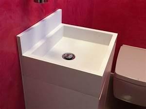 Waschplatz Selber Bauen : waschbecken auf tisch beton waschbecken selber machen ~ Lizthompson.info Haus und Dekorationen