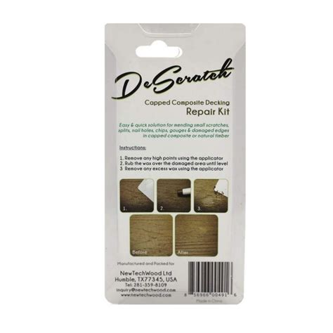 ultrashield walnut descratch repair kit
